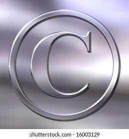 bevel copyright sign