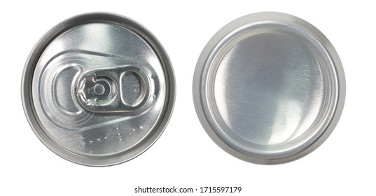 Beverage can top and bottom