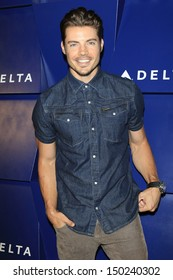 BEVERLY HILLS - AUG 15: Josh Henderson at a summer celebration hosted by Delta Air Lines at a private residence on August 15, 2013 in Beverly Hills, California