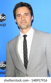 BEVERLY HILLS - AUG 4: Brett Dalton at the 2013 Television Critics Association's Summer Press Tour - Disney/ABC Party at The Beverly Hilton Hotel on August 4, 2013 in Beverly Hills, California