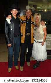 BEVERLY HILLS - August 12: Martin Kove with wife Vivienne Kove and son Jesse at the 24th Annual Golden Boot Awards on August 12, 2006 at Beverly Hilton Hotel in Beverly Hills, CA.