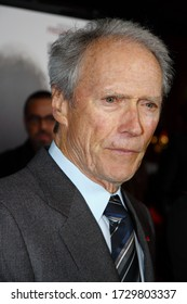 BEVERLY HILLS, CA - DEC. 03, 2009: Clint Eastwood sighting in front of AMPAS on December 03, 2009 in Beverly Hills, CA.