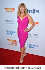 BEVERLY HILLS, CA. December 4, 2016: Leeza Gibbons at the 2016 TrevorLIVE LA Gala at the Beverly Hilton Hotel.
