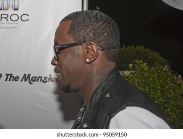 BEVERLY HILLS, CA - FEBRUARY 12: Sean Combs (P. Diddy) attends the Grammy after party at the Playboy Mansion on February 12, 2012 in Beverly Hills, California. (Photo by Jonathan S. Nowak)