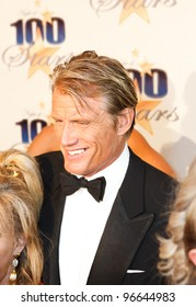 BEVERLY HILLS, CA - FEBRUARY 26: Actor Dolph Lundgren arrives for the  22nd Annual Night Of 100 Stars event held at The Beverly Hills Hotel on February 26, 2012 in Beverly Hills, California.