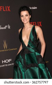 BEVERLY HILLS, CA - JAN. 10: Jaime Alexander arrives at the Weinstein Company and Netflix 2016 Golden Globes After Party on Sunday, January 10, 2016 at the Beverly Hilton Hotel in Beverly Hills, CA.