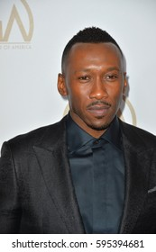 BEVERLY HILLS, CA. January 28, 2017: Actor Mahershala Ali at the 2017 Producers Guild Awards at The Beverly Hilton Hotel.