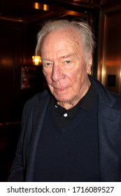 BEVERLY HILLS, CA – MARCH 3, 2018: Christopher Plummer at the Beverly Wilshire Hotel on March 3, 2018 in Beverly Hills, CA.