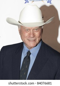 BEVERLY HILLS, CA - MARCH 7:  Larry Hagman attends the 20th Annual Night of 100 Stars Awards Gala on March 7, 2010 in Beverly Hills, CA.