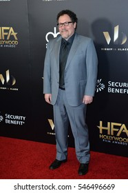 BEVERLY HILLS, CA. November 6, 2016: Actor/director Jon Favreau at the 2016 Hollywood Film Awards at the Beverly Hilton Hotel.