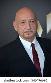 BEVERLY HILLS, CA. November 6, 2016: Actor Sir Ben Kingsley at the 2016 Hollywood Film Awards at the Beverly Hilton Hotel.