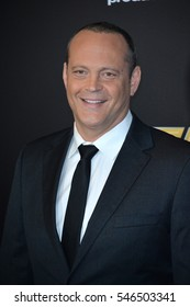 BEVERLY HILLS, CA. November 6, 2016: Actor Vince Vaughn at the 2016 Hollywood Film Awards at the Beverly Hilton Hotel.