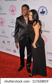 BEVERLY HILLS, CA - OCTOBER 20, 2012: Kenny Babyface Edmonds & Nicole Pantenburg at the 26th Carousel of Hope Gala at the Beverly Hilton Hotel.