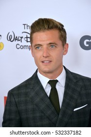 BEVERLY HILLS, CA. October 21, 2016: US soccer star Robbie Rogers at the 2016 GLSEN Respect Awards at the Beverly Wilshire Hotel.