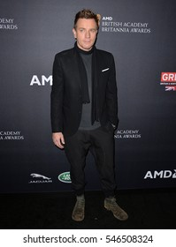 BEVERLY HILLS, CA. October 28, 2016: Ewan McGregor at the 2016 AMD British Academy Britannia Awards at the Beverly Hilton Hotel.