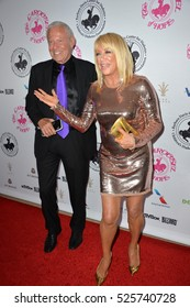 BEVERLY HILLS, CA. October 8, 2016: Alan Hamel & Suzanne Somers at the 2016 Carousel of Hope Ball at the Beverly Hilton Hotel.