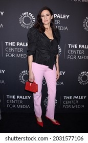 """BEVERLY HILLS, CA USA - NOV 21 2019:  Michaela Watkins arrives to """"The Paley Honors: A Special Tribute To Television's Comedy Legends"""" on November 21, 2019 in Beverly Hills, CA"""