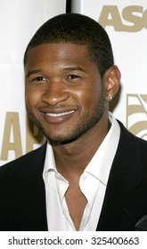 BEVERLY HILLS, CALIFORNIA. May 16, 2005. Usher attends at the 22nd Annual ASCAP Pop Music Awards at the Beverly Hilton Hotel in Beverly Hills, California.