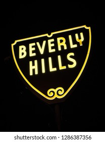 Beverly Hills California Sign