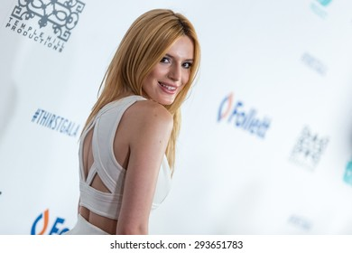BEVERLY HILLS, CA/USA - JUNE 30 2015:  Bella Thorne attends the 6th Annual Thirst Gala at The Beverly Hilton Hotel on Tuesday, June 30, 2015 in Beverly Hills, Calif.