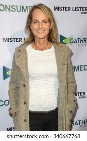 BEVERLY HILLS, CA/USA -  NOVEMBER  11  2015: Helen Hunt attends the Los Angeles premiere of 'Consumed'