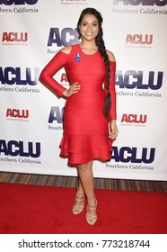 "BEVERLY HILLS - DEC 3:  Lilly Singh arrives to the ACLU SoCal Annual ""Bill Of Rights"" Dinner on December 3, 2017 in Beverly Hills, CA"