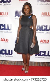 "BEVERLY HILLS - DEC 3:  Viola Davis arrives to the ACLU SoCal Annual ""Bill Of Rights"" Dinner on December 3, 2017 in Beverly Hills, CA"