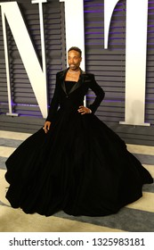 BEVERLY HILLS - FEB 24: Billy Porter at the 2019 Vanity Fair Oscar Party at The Wallis Annenberg Center for the Performing Arts on February 24, 2019 in Beverly Hills, CA