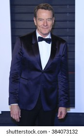 BEVERLY HILLS - FEB 28: Bryan Cranston at the 2016 Vanity Fair Oscar Party on February 28, 2016 in Beverly Hills, California