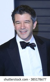 BEVERLY HILLS - FEB 28: Travis Kalanick at the 2016 Vanity Fair Oscar Party on February 28, 2016 in Beverly Hills, California