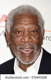 BEVERLY HILLS - FEB 6:  Morgan Freeman arrives to the 16th Annual Movies For Grownups Awards  on February 6, 2017 in Beverly Hills, CA