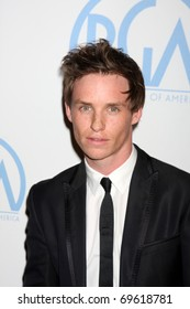 BEVERLY HILLS - JAN 22:  Eddie Redmayne arrives at the 22nd Annual Producers Guild Awards at Beverly Hilton Hotel on January 22, 2011 in Beverly Hills, CA