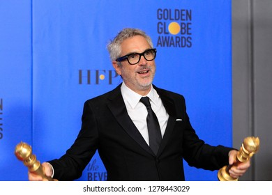 BEVERLY HILLS - JAN 6: Alfonso Cuaron at the 76th Annual Golden Globe Awards at The Beverly Hilton Hotel on January 6, 2019 in Beverly Hills, California
