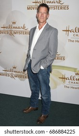 BEVERLY HILLS - JUL 27:  James Denton arrives to the Hallmark Channel and Hallmark Movies and Mysteries TV Critics Association Summer Press Tour  on July 27, 2017 in Beverly Hills, CA
