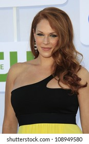 BEVERLY HILLS - JUL 29: Amanda Righetti at the 2012 TCA CBS, Showtime and The CW Summer Press Tour party on July 29, 2012 in Beverly Hills, California