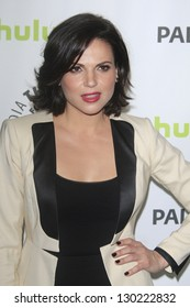 """BEVERLY HILLS - MAR 3:  Lana Parrilla at the """"Once Upon A Time"""" PaleyFEST Event at the Saban Theater on March 3, 2013 in Beverly Hills, California"""