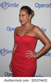BEVERLY HILLS - OCT 2: Adrienne Bailon at the Operation Smile's 2015 Smile Gala  on October 2, 2015 at the Beverly Wilshire Four Seasons Hotel in Beverly Hills, CA.
