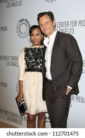 BEVERLY HILLS - SEP 11: Kerry Washington, Tony Goldwyn at the PaleyFest for the ABC Fall TV Preview at The Paley Center for Media on September 11, 2012 in Beverly Hills, California