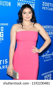 BEVERLY HILLS - SEP 29: Ariel Winter at the 2018 American Humane Hero Dog Awards at The Beverly Hilton Hotel on September 29, 2018 in Beverly Hills, California