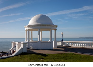 BEXHILL-ON-SEA, EAST SUSSEX/UK - OCTOBER 17 : Colonnade in grounds of De La Warr Pavilion in Bexhill-On-Sea on October 17, 2008