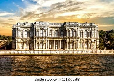 Beylerbeyi Palace in Istanbul, Turkey