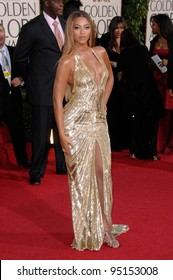 BEYONCE KNOWLES at the 64th Annual Golden Globe Awards at the Beverly Hilton Hotel. January 15, 2007 Beverly Hills, CA Picture: Paul Smith / Featureflash