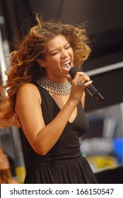 Beyonce Knowles on stage for ABC GMA Good Morning America Concert with Beyonce, Times Square, New York, NY, September 08, 2006