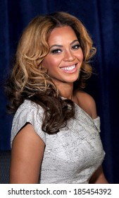 Beyonce Knowles at a public appearance for The Beyonce Cosmetology Center Grand Opening, Phoenix House Residential Rehab Clinic, Brooklyn, NY March 5, 2010