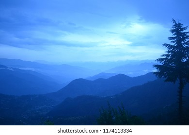 Beyond The Blue Mountain - Himalayas at Dalhousie India