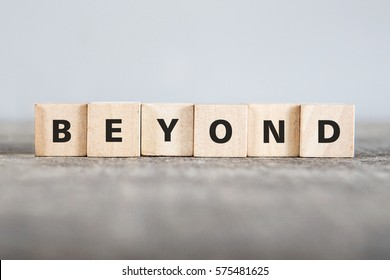 BEYOND word made with building blocks