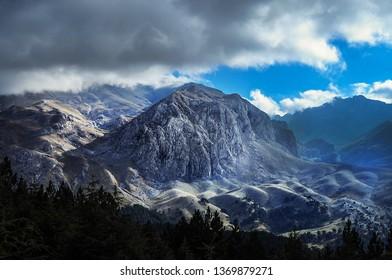 Beysehir Mountains in Turkey