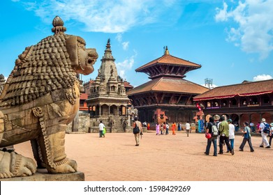 Bhaktapur Durbar Square is the royal palace of the old Bhaktapur Kingdom, 1,400 metres (4,600 ft) above sea level. It is a UNESCO World Heritage Site.