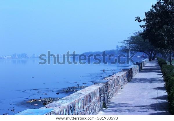Bhalswa Lake, Delhi, India