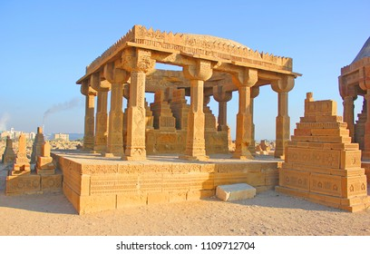 Bhambore graveyard ancient city in sindh, karachi Pakistan 27-MAY-2017